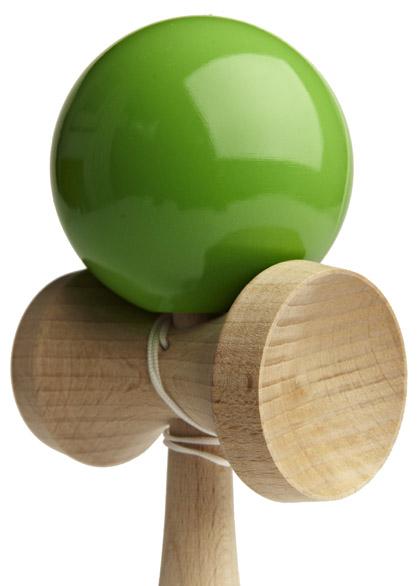 Kendama Ozora Green Closeup