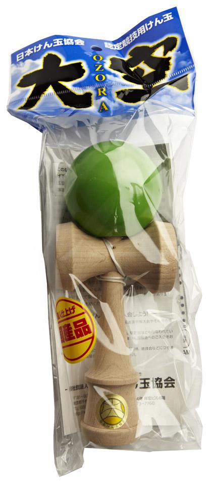 Kendama Ozora Green Packaging