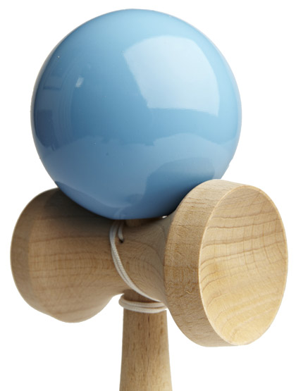 Kendama Ozora Light Blue Closeup