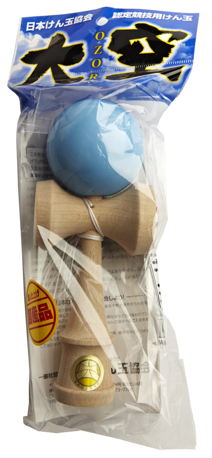 Kendama Ozora Light Blue Packaging