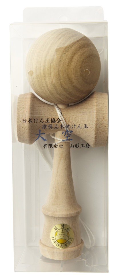 Kendama Ozora Natural Grain Packaging