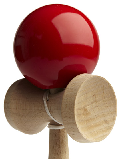Kendama Ozora Red Closeup
