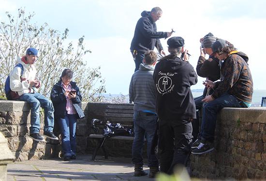 BKO participants around Bristol