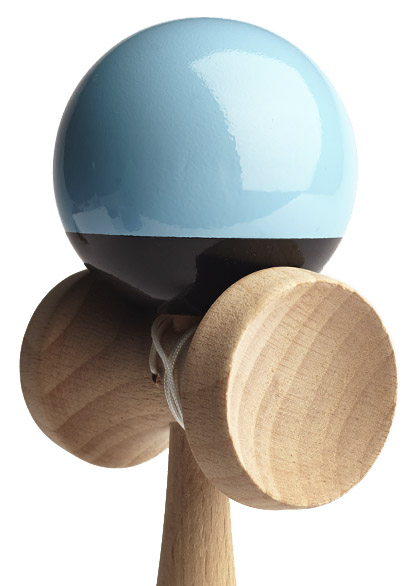 Kendama Union Light Blue Closeup