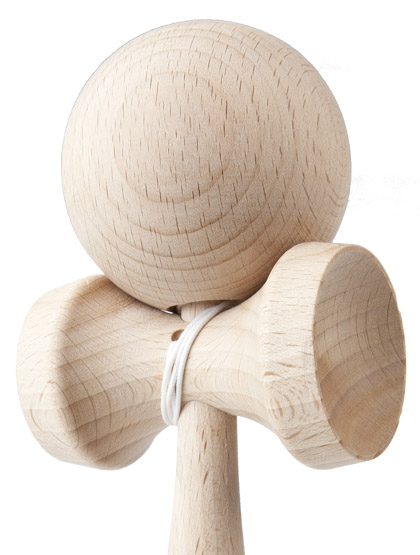 Kendama Play Grain Closeup