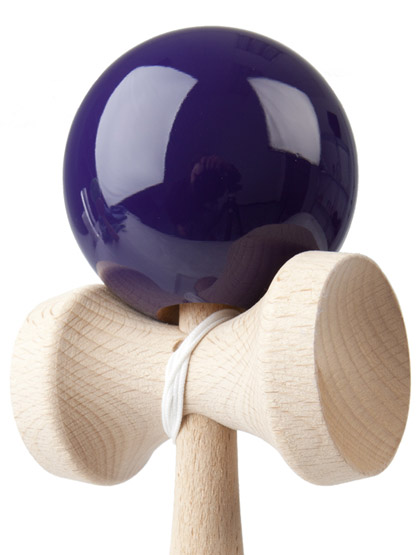 Kendama Play Purple Closeup