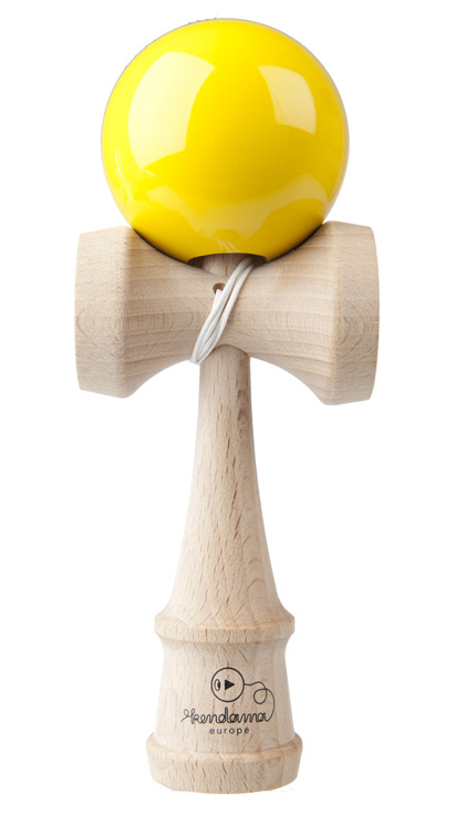 Kendama Play Yellow