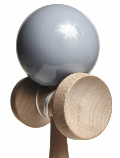 KDUK Union Kendama Grey Closeup
