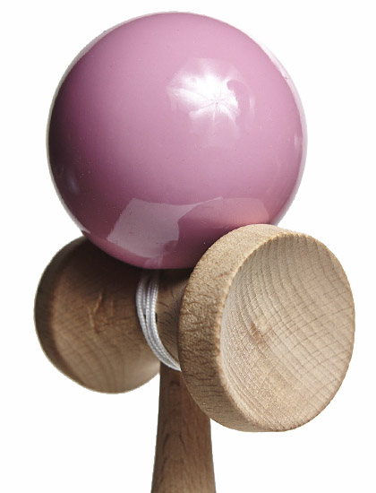 KDUK Union Kendama Pink Closeup