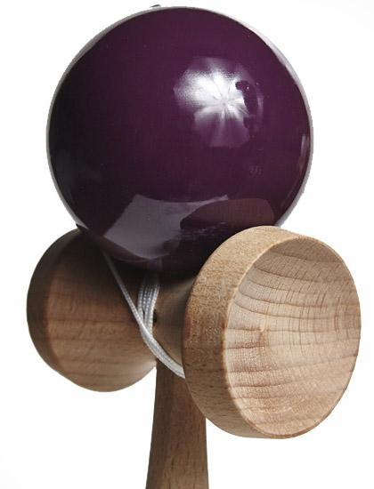 KDUK Union Kendama Purple Closeup