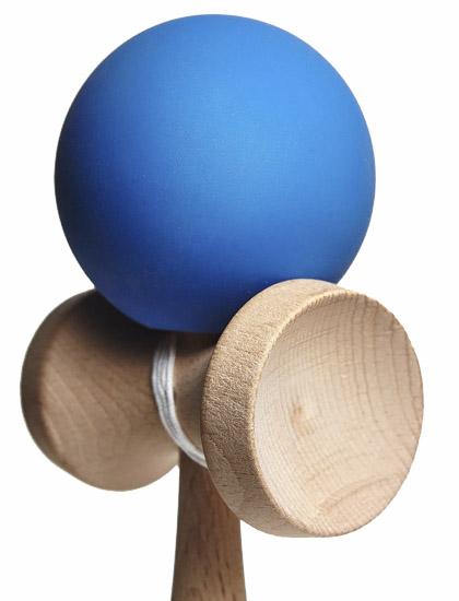 Kendama Union Rubber Blue Closeup