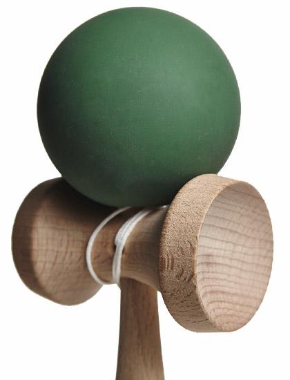 Kendama Union Rubber Green Closeup