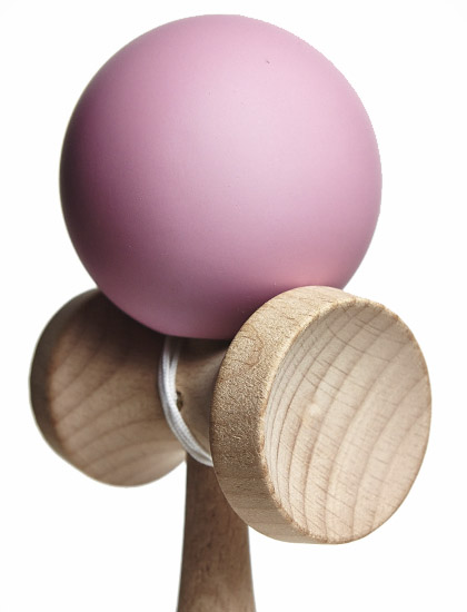 Kendama Union Rubber Pink Closeup