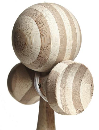 Kendama Union Wood Stripe Closeup
