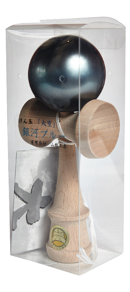 Kendama Ozora Galaxy Blue Packaging