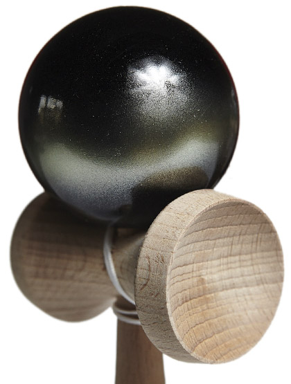 Kendama Ozora Galaxy Green Closeup