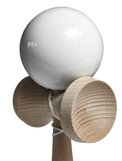 Kendama Ozora Premium White Closeup